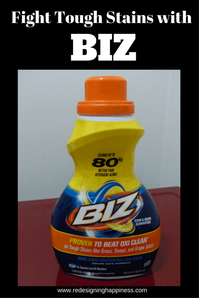 Fight Tough Stains with BIZ
