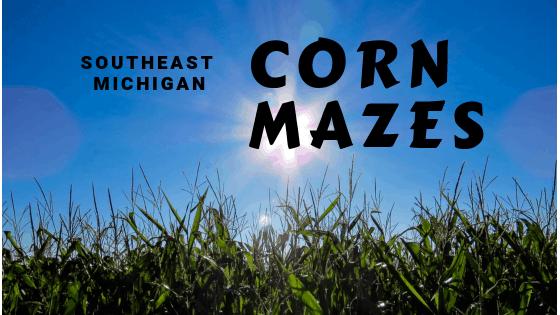 Southeast Michigan Corn Mazes
