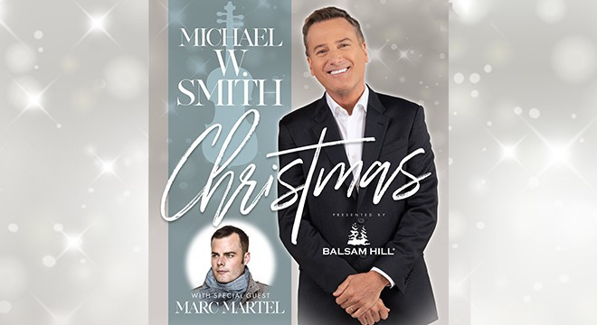 Michael W. Smith Christmas Ticket Info & Giveaway
