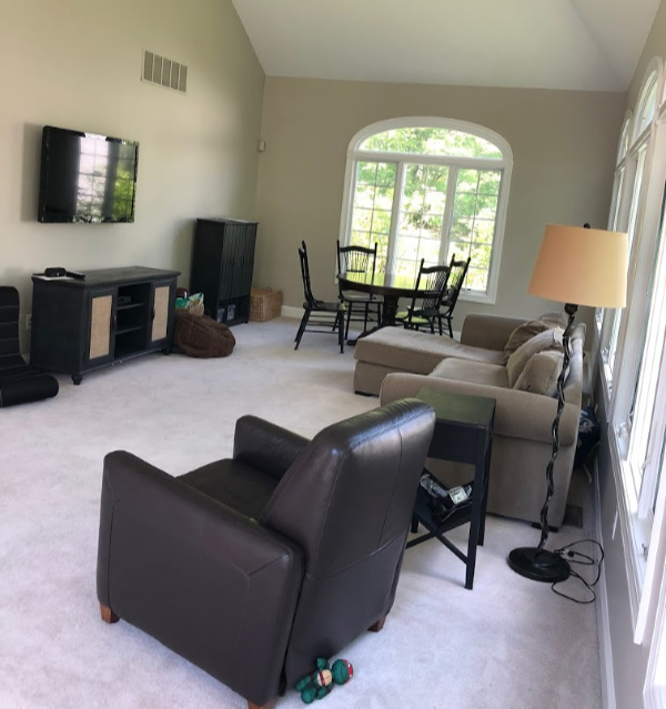 Family Room Redesign-BEFORE