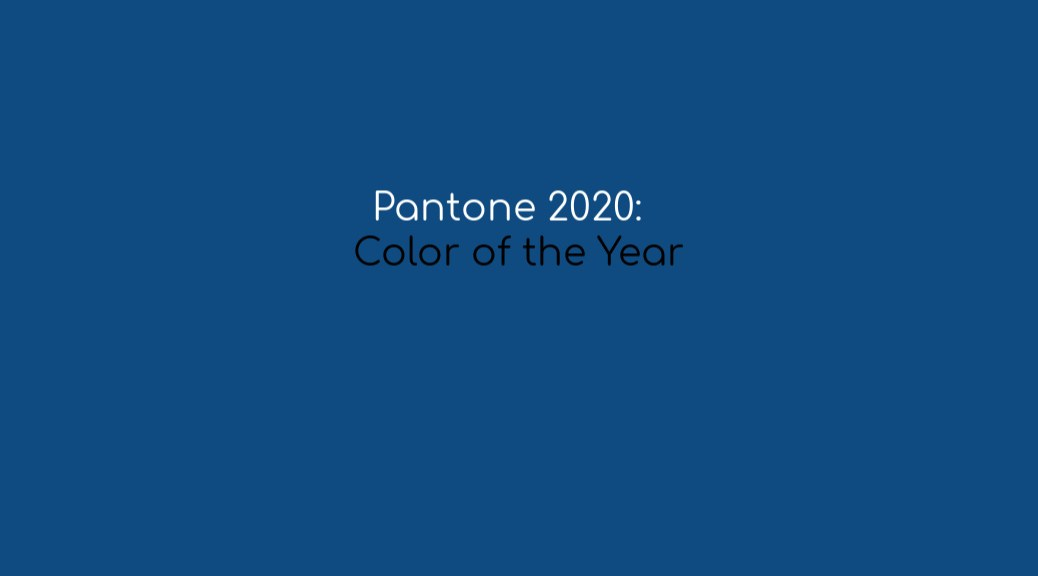2020 Color of the Year Classic Blue