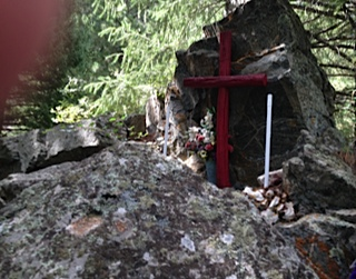 Shrine at Fairkytes
