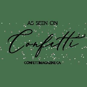 Confetti Magazine badge