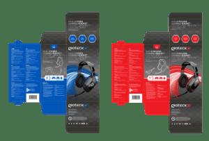 Gioteck packaging design