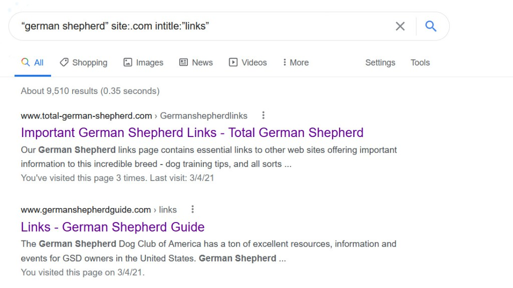How To Ask Bloggers For Backlinks Google Search Query