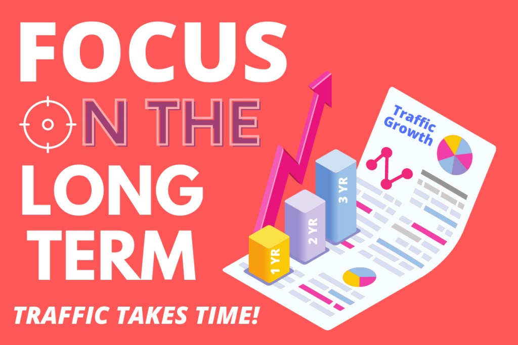 Best Blogging Tips For Beginners - Focus On The Long Term
