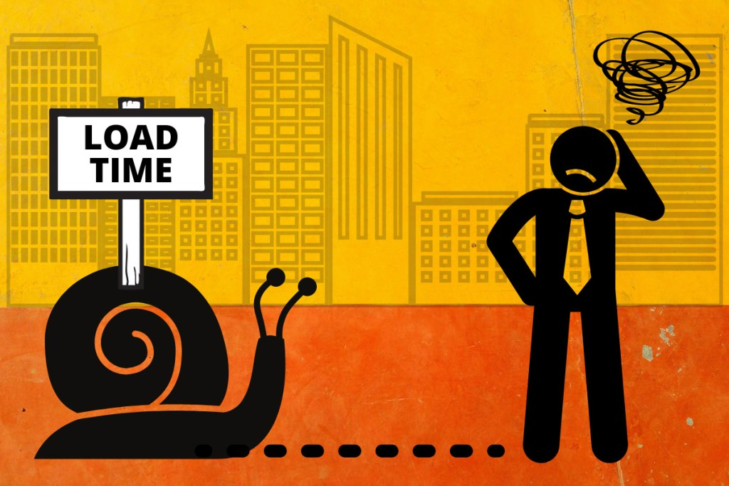 Best Blogging Tips For Beginners - Slow Load Time