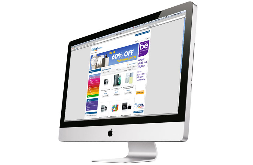 Flybe E-commerce website development