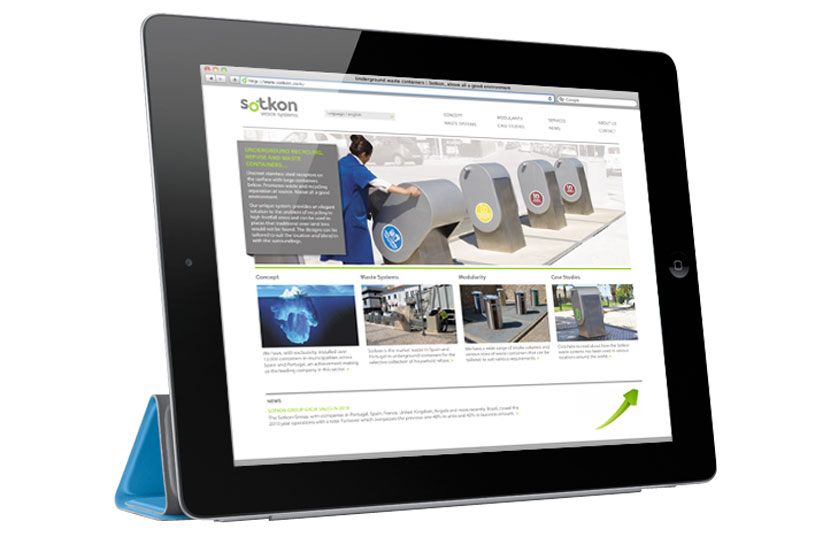 Sotkon website design web design cheshire