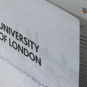 University of London Annual Report Design