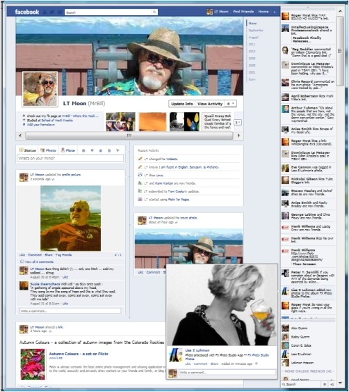 My FB TimeLine Profile