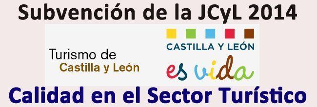 Subvencion de la JCyL de calidad en el sector turistico