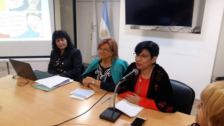Concejala Miriam Acosta, Comisión de Equidad de Género en Córdoba - Red Gobierno