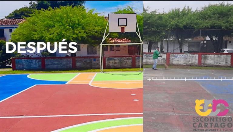 Reacondicionamiento de parques y jardines en Cartago, Valle del Cauca, Colombia - Red Gobierno