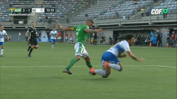 U. Católica vs Audax Italiano | Polémica por penal sobre Edson Puch no sancionado en el Campeonato Nacional | RedGol