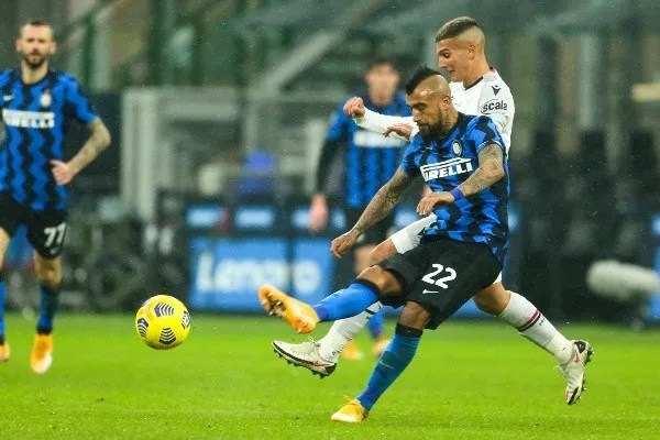 Arturo Vidal of Inter Milan-Not Released (NR)