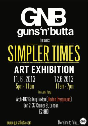 Simpler Times Exhibtion