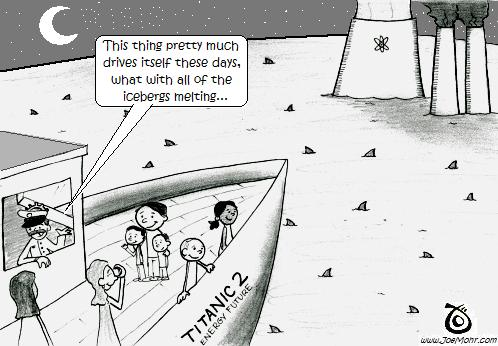 Our Energy Future: Titanic #2 (Cartoon)