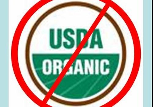 Not Organic