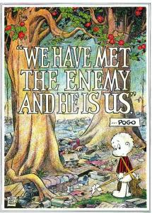 Pogo - we have met the enemy - drain the swamp