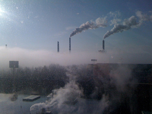 climate change pollution emissions
