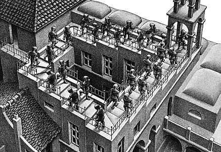 Mc-Escher-Stairs
