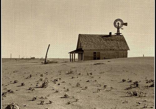 dust-bowl-1936-kansas-windmill