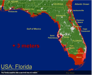 Florida, of all states, is the most vulnerable to climate change - and the most invested in making it happen