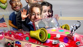 GOP clown car