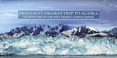 President Obama takes the fight on Climate Change to Alaska
