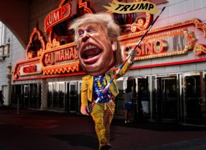 Trump's mad sideshow marches on