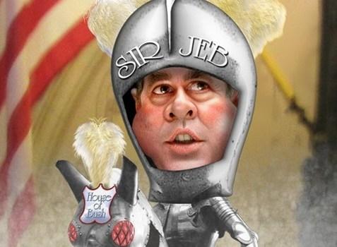 Jeb! Bush by Donkeyhotey