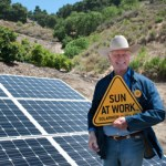solar power at work