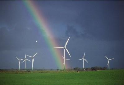 wind power rainbow
