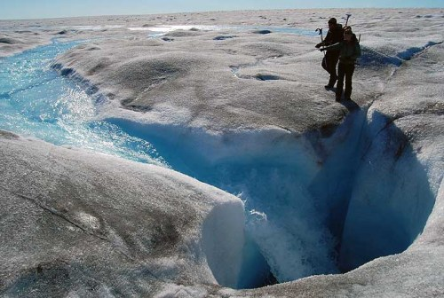 Greenland ice melting ever faster, thanks to climate change