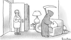 New Yorker grim reaper cartoon