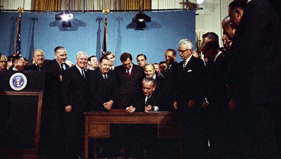 clean air act signing