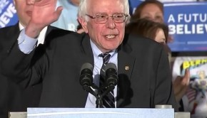 Bernie Sanders victory speech in the New Hampshire Primary