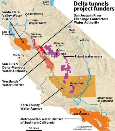 Goldman Sachs gives low-ball estimate of Delta Tunnels costs