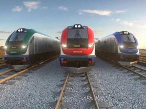 high speed siemans trains for idot