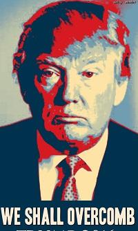 donald trump we shall overcomb