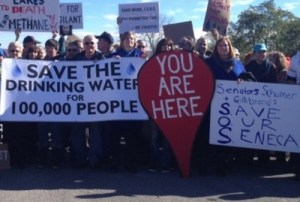 Seneca Lake vs Fracking
