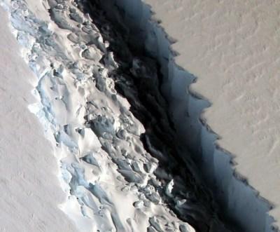 The Larsen trillion-ton C iceberg has broken off