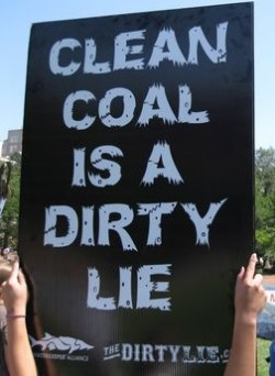 clean coal is a dirty lie
