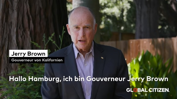 Gov. Jerry Brown Announcing Plans for Climate Change Summit in California
