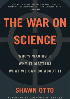 war on science book by shawn otto