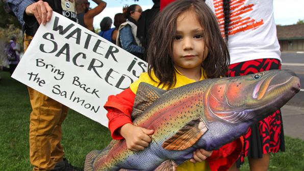 Winnemem Wintu salmon restoration Water is Sacred