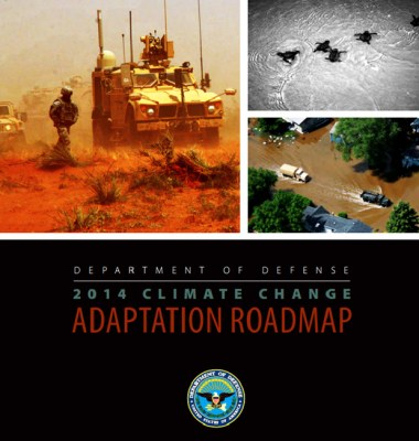 DOD climate change roadmap national security