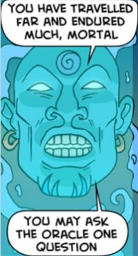 Oracle image by Oglaf