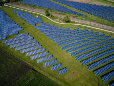 solar array image by Andreas Gücklhorn on Unsplash